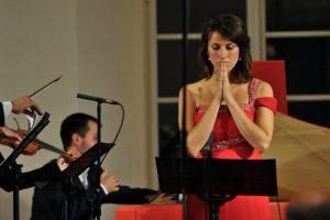 mezzo-soprano Barbara Kozelj in concert